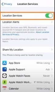 Toggle-Location-Services