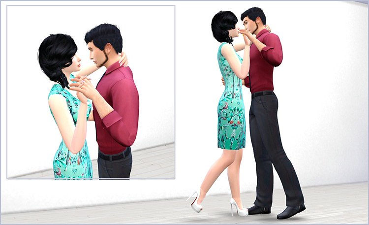 Slow Dance Pose Pack / TS4