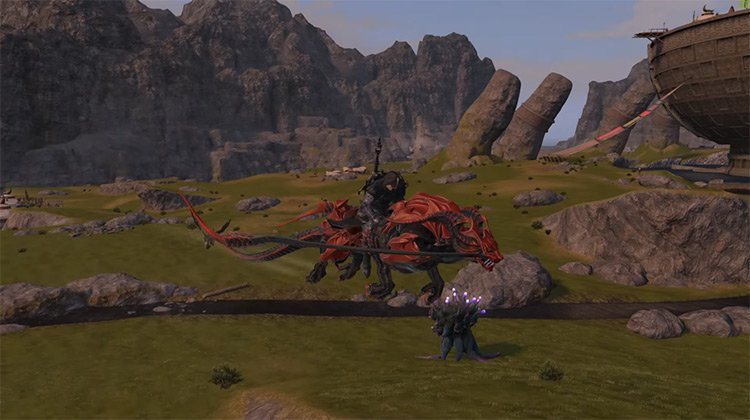 Battle Panther in FFXIV