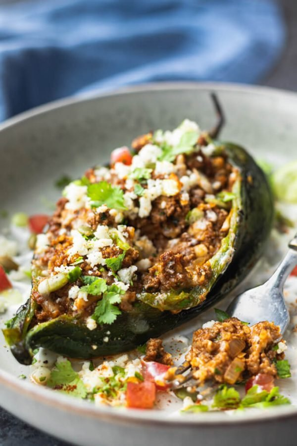 stuffed poblano peppers ground beef 6 600x900 1